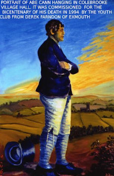 Abraham Cann Painting by artist Derek Farndon